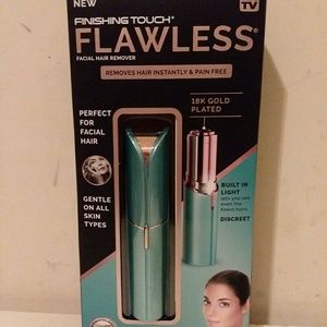 Finishing Touch Flawless Face Hair Remover New